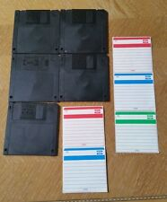 5 - TDK MF-2HD IBM/DOS Formatted Diskettes (Preowned, Never Used)