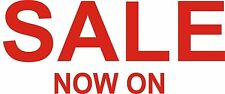 SALE NOW ON x 2 SIGNS / RETAIL WINDOW SHOP PROMOTION VINYL DECAL STICKER