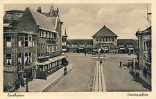 Ansichtskarte Eindhoven Stationsplein um 1935 Bahnhof