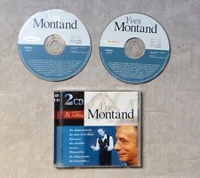 """CD AUDIO MUSIQUE / YVES MONTAND """"YVES MONTAND"""" 36T 2 X CD COMPILATION 1998 POP"""