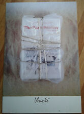 Christo Exhibition Poster Photo Litho Print Art Gallery The Paris Review 1982