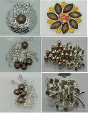 wholesale lot vintage style wedding brooches pin