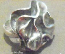 Silpada .925 Sterling Silver Abstract POWER RING size 7 RETIRED