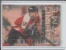 97-98 Donruss Limited Jarome Iginla Fabric Of The Game # 61 #d/1000