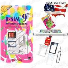 Genuine R-SIM 9 PRO iPhone 4S 5 Unlock Card iOS 6-7 AT&T Verizon T-Mobile Gevey