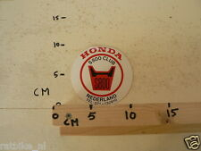 STICKER,DECAL HONDA S800 CLUB NEDERLAND