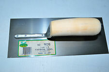 "Marshalltown 90S Nu-Pride Finishing Trowel w/Curved Plastic Handle 11""-4.5"". USA"
