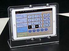 iPad mini Clear Acrylic Desktop Stand for Kiosk, Show Store Display, POS, Square