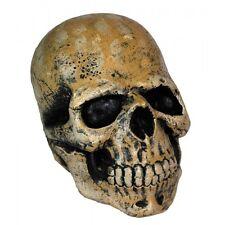 Tête de Mort crâne souple à suspendre décoration de salle halloween faire peur