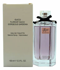 GUCCI FLORA BY GUCCI GORGEOUS GARDENIA EAU DE TOILETTE SPRAY 100 ML/3.3 OZ. (T)
