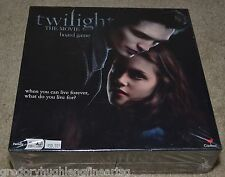 TWILIGHT THE MOVIE Board Game $50.00 Retail SEALED 2009 RELEASE Vampires