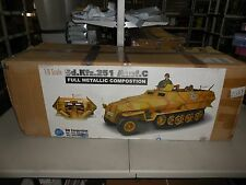 HUGE 1:6 SCALE SD.KFZ.251 AUSF.C ORDINANCE YELLOW WWII METALLIC VEHICLE DID CORP