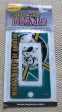 Anaheim Mighty Ducks NHL Hockey LOGO Light Switch Peel / Stick Decal Deco