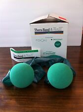 Vintage Thera-Band & Ball, Thera-Band Heavy, Green, NEW in Box 1993