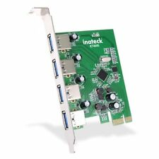 [Cord-Free Power Supply New Version] Inateck 4 Ports Pci-E To Usb 3.0 *FROM UK*