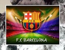 """5 FC Barcelona Logo Poster Flexible Fridge Magnet 2.5"""" x 3.5"""""""