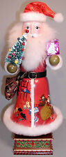 """MARKED DOWN - EXQUISITE 14"""" WOOD HAND-PAINTED NUTCRACKER-MUSICAL - RETIRED"""