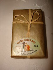 VINTAGE COLLECTIBLE GREECE PURE OLIVE OIL SOAP & HONEY 100 gr SEALED