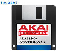 Akai s2000 Operating System on Floppy Disk Version 2.00