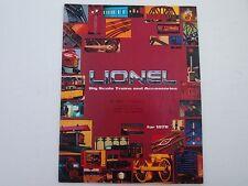 LIONEL TRAIN CATALOG 1978 BIG SCALE TRAINS AND ACCESSORIES TIMBERLINE SANTA FE