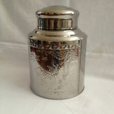 Stainless Steal Canister Air Tight Double Cover Tea/Coffee/Rice/Flour/Dried Food