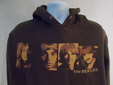 The Beatles Hoodie by Apple Corps, Brown, Men's Medium