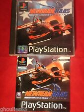 NEWMAN HAAS RACING PLAYSTATION 1 NEWMANN HAAS RACING PS1 PS2 PS3