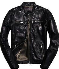 SuperDry Classic Real Hero Biker Jacket ( Size L ) Brand New With Tags RRP £200