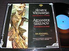 IDA HAENDEL Wieniawski & Glazunow Violin Concerto/ Czech LP 1965 SUPRAPHON 50687