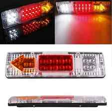 1 pair 19 LED Tail Light Car Truck Trailer Stop Rear Reverse Turn Indicator Lamp