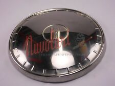 COPPA BORCHIA RUOTA INOX  PER FIAT 1100 R BERLINA - NUOVA -  WHEEL COVER