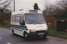 2 x Coggeshall Community Bus Photos - Ford L537BKM (South East England)
