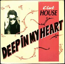 CLUB HOUSE - DEEP IN MY HEART - FRENCH CARDBOARD SLEEVE CD MAXI