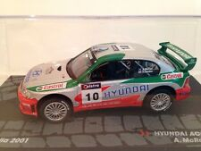 Hyundai Accent WRC2 A.McRae D.Senior Rally Australia 2001 New 1:43 Scale