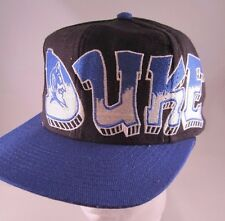 Top of the World Duke Blue Devils Graffiti Snapback Throwback VTG NCAA Hat 90's