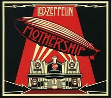LED ZEPPELIN MOTHERSHIP - THE VERY BEST OF Audio CD 2 Discs Warner Music Russia