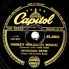 TENNESSEE ERNIE 78 COUNTRY JUNCTION /' SMOKEY MOUNTAIN BOOGIE CAPITOL CL13211 E-