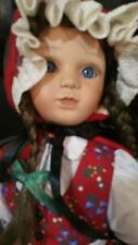 "Ashton Drake 19"" Doll Little Red Riding Hood by Gabe Rademann"
