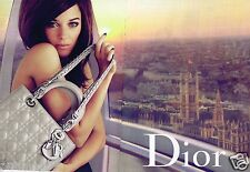 Publicité advertising 2010 (2 pages) Haute Couture sac à main Christian Dior