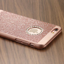 For Apple iPhone 6s Plus Luxury Diamond Crystal Rhinestone Bling Hard Case Cover