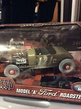 Highway 61 1929 Ford Model A Roadster Dirty Origins Of Speed 1:18 Diecast Car