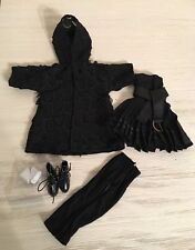 Ellowyne Wilde Black On Black Fashion Outfit - Removed From Box -
