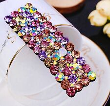 Quality Handmade Hair Clip Bobby Pin using Swarovski Crystal Hairpin Colorful