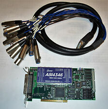 Audio Science ASI4346 - Multistream PCI Sound Card with GPIO