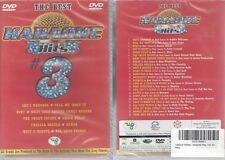 DVD-- KARAOKE HITS 3--THE BEST