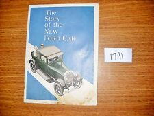 Ford Model A Coupe Roadster The Story of the New Ford Car book