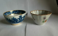 Two late 18th , early 19th c Tea bowls - One Chinese - One other possible