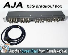 "AJA K3G 19"" 1RU External Breakout Box for Kona 3 with HDMI Out Cable"