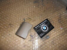 Bmw E46 isofix child seat mounting cover,Mint condition,CREAM