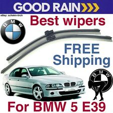 BMW 5 series E39 Windshield Frameless Wiper Blades + Video installation manual